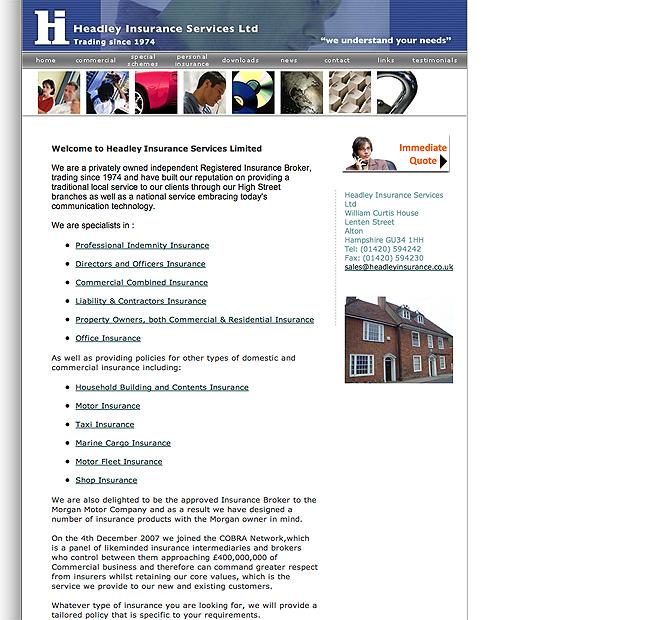 headleyinsurance.co.uk