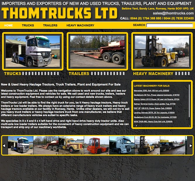 thomtrucks.com