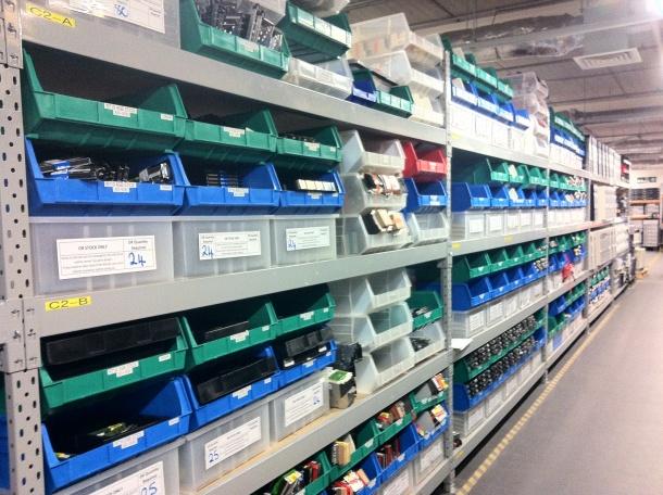 Rackspace datacentre spare parts