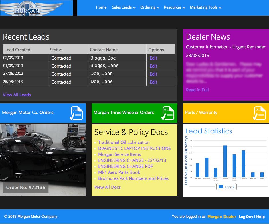 MMC Dealer Portal