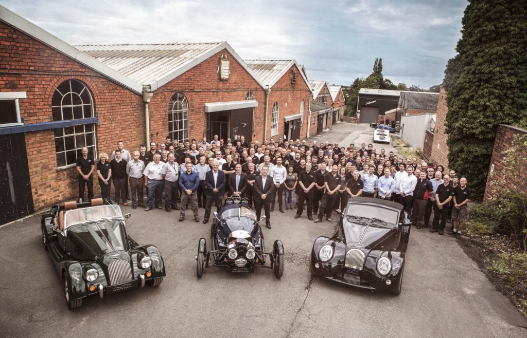 Morgan Motor Company has today announced record profitability and growth